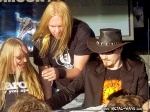 Nightwish, Signing Session @ Wacken Open Air (Marco Hietala, Tuomas Holopainen)
