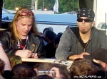 "Nightwish, Signing Session @ Wacken Open Air (Emppu Vuorinen, Jukka ""Julius"" Nevalainen)"