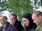 Within Temptation, Signing Session @ Wacken Open Air (Jeroen Van Veen, Martijn Spierenburg, Stephen Van Haestregt, Ruud Jolie)