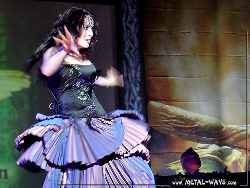 Within Temptation @ M'era Luna (Sharon Den Adel)