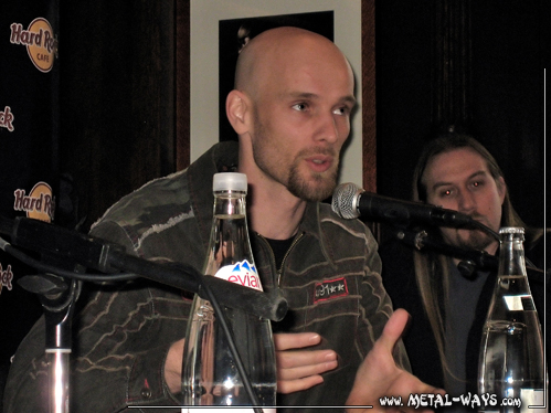 Within Temptation, Press Conference (Robert Westerholt)